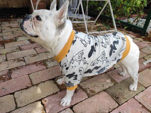 bulldog pulóver